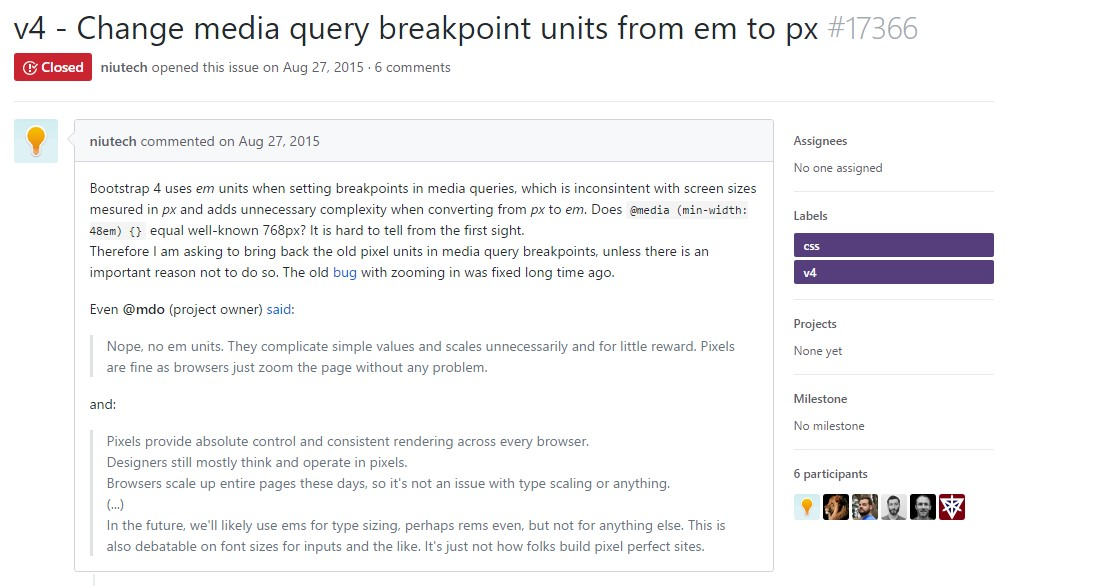 Transform media query breakpoint units from 'em' to 'px'