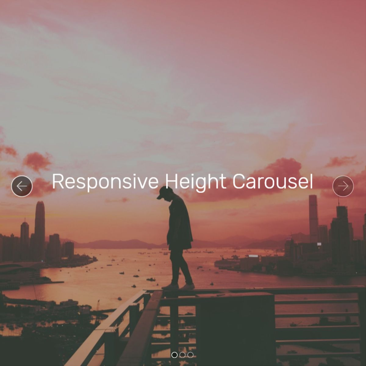 JavaScript Bootstrap Image Carousel