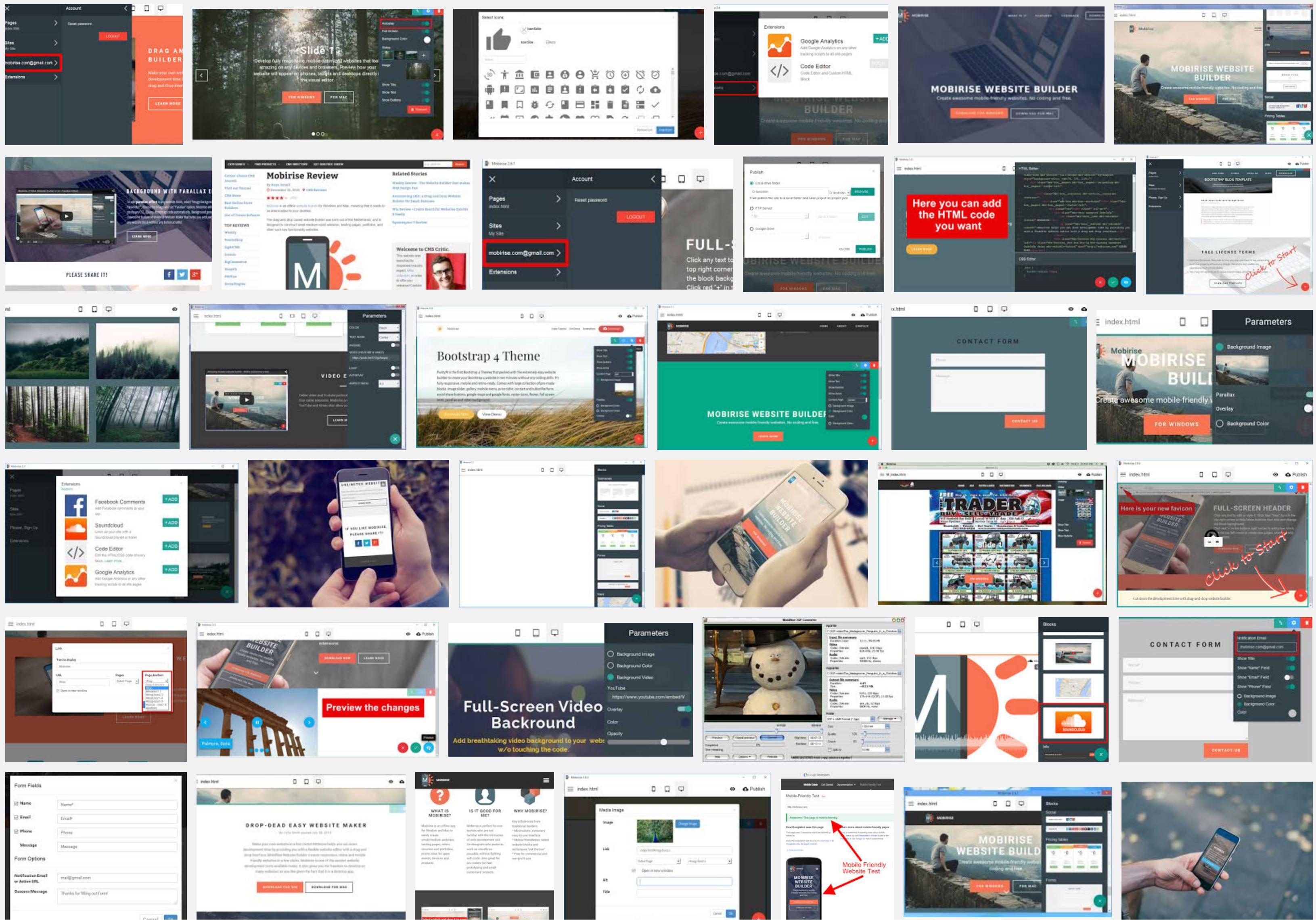 bootstrap website creator