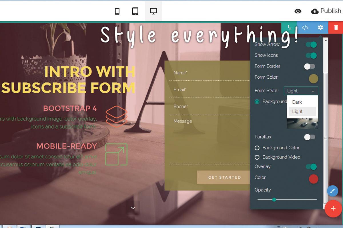 HTML5 Responsive Website Builder Review