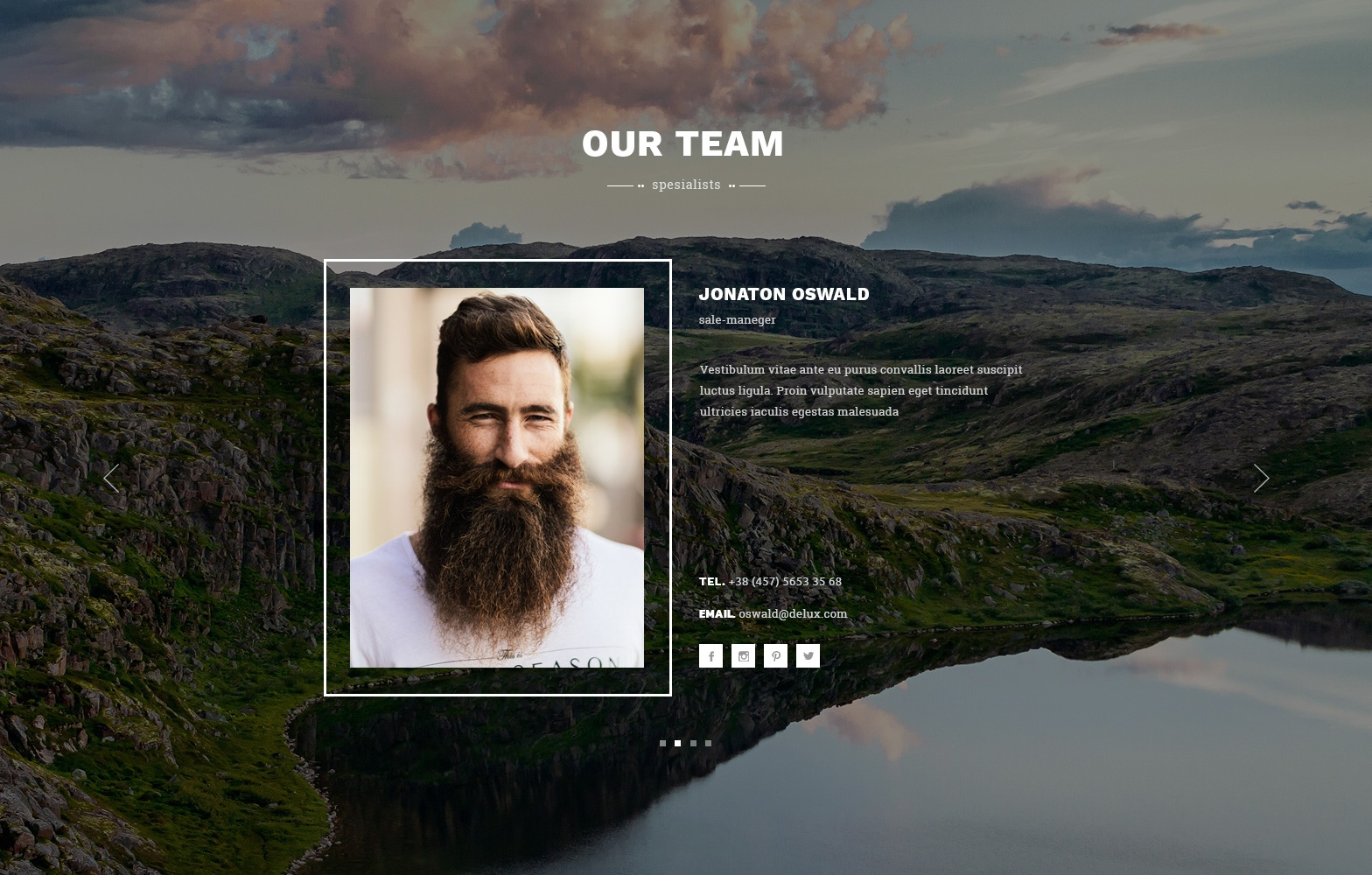 HTML Bootstrap Coming Soon Theme