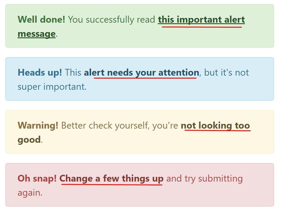 Bootstrap  color option  web links