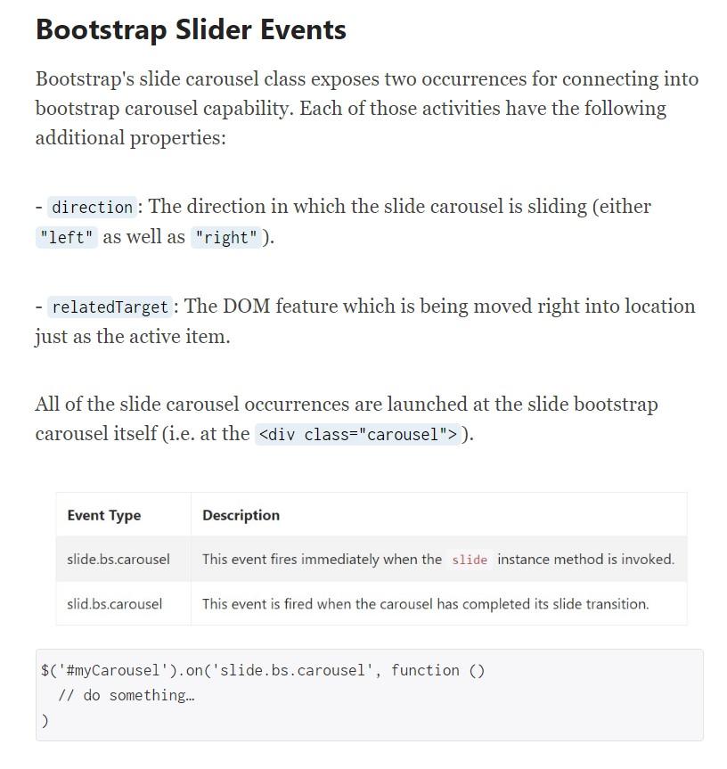 Slider Bootstrap 4
