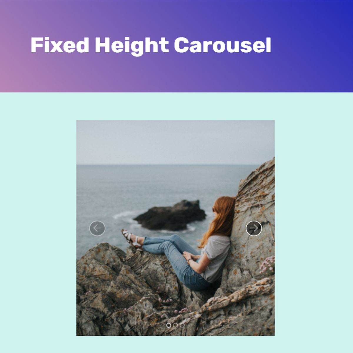 HTML Bootstrap Picture Slider
