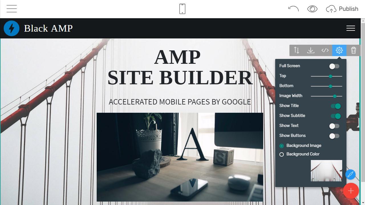 AMP Site Creator