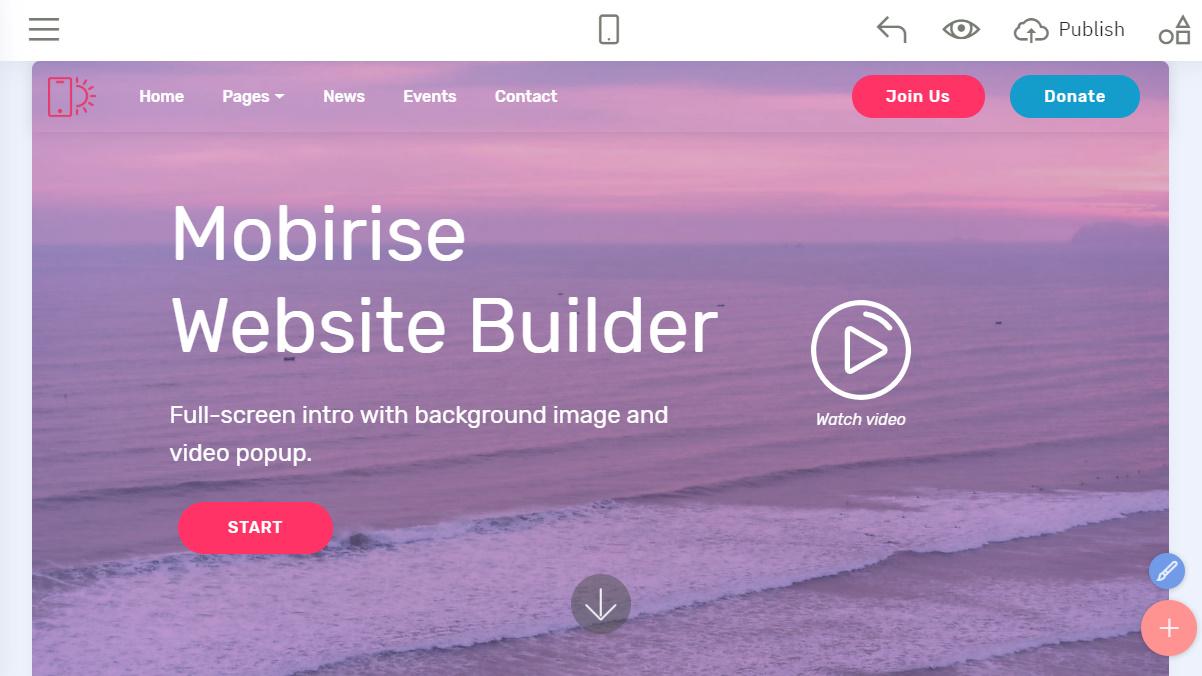 offline website builder