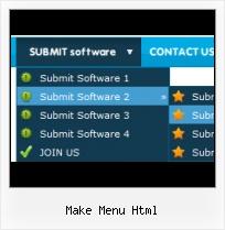 Make Menu Html  Web Menu How To
