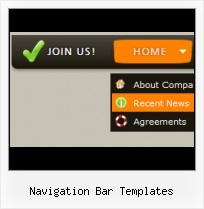 navigation bar templates web menu how to